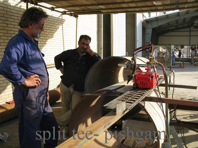 برش اتصالات اسپیلیت تی در حین ساخت اسپیلیت تی چه شرایط ساختی دارد؟